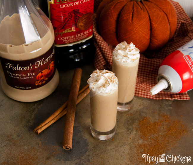 Pumpkin Spice Latte Shots