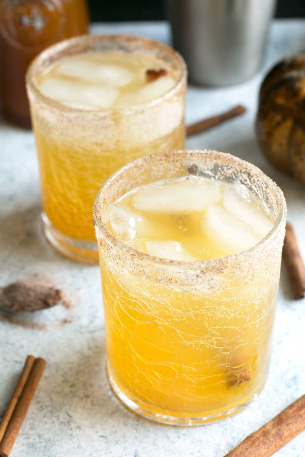Bourbon Pumpkin Smash