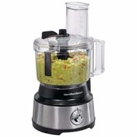 450-Watt 10-Cup Food Processor with Bowl Scraper Attachment