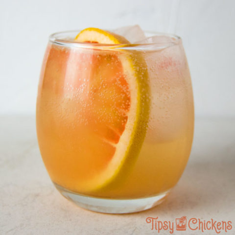 Wintery White Wine Spritzer