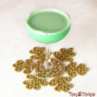Mistletoe Kisses Chocolate Mint Christmas Cocktail