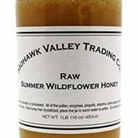 Raw Honey - Wildflower - Summer, Product of USA - Unfiltered - Unpasteurized - Unprocessed - 1 LB (16 oz - 454 G)