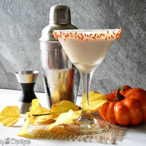 Pumpkin Pie Caketini
